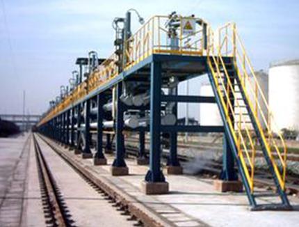 钢结构发油台