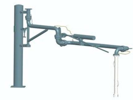 AL1401顶部装车鹤管