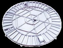 组装式六边形铝制内浮盘
